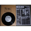 "THE WANKYS - Weapons of Musical Destruction 8"" + Wank Mag."