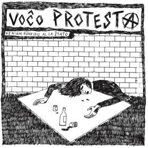 VOCO PROTESTA - Neniam Konfidu al la Stato LP GREEN VINYL