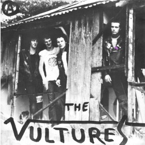 "VULTURES - S/T 7"" BLACK VINYL"