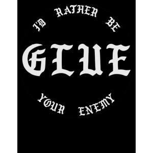 GLUE Black Tshirt