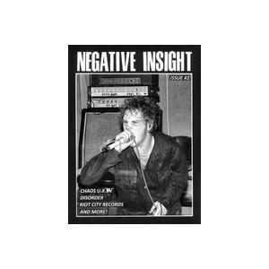 "NEGATIVE INSIGHT  ZINE 2 + Chaos U.K. 7"" EP"