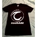 HARAM - Logo Black T-Shirt