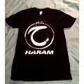 HARAM - Logo Black T-Shirt