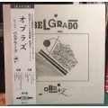 BELGRADO - Obraz LP WHITE VINYL Japanese Press with Obi