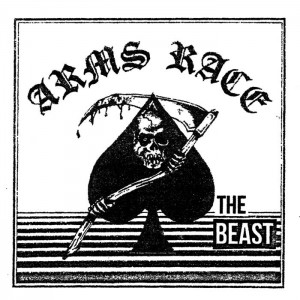 "ARMS RACE - The Beast 7"" WHITE VINYL"
