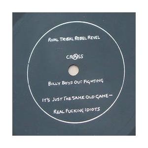 "CRASS - Rival Trival Rebel Revel 7"" FLEXI"