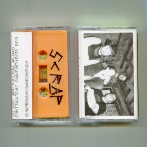 SCRAP BRAIN - S/T Cassette Tape