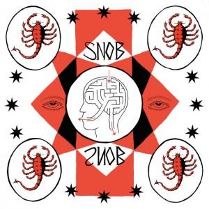 SNOB - S/T LP White Vinyl