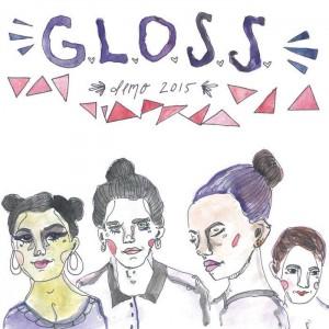 "G.L.O.S.S. - Demo 2015 7"""
