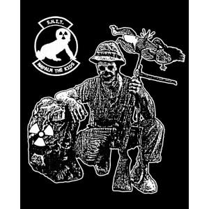 S.H.I.T. - Napalm The Kids Black Sweatshirt