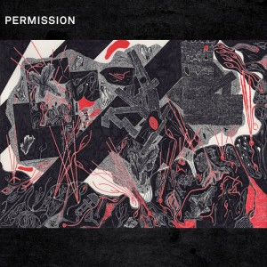 PERMISSION -  Drawing Breath Through a Hole in the Ground MLP RED VINYL