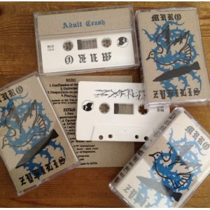 MURO / ZYFILIS - Split Cassette tape