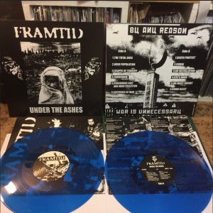 FRAMTID - Under the Ashes LP BLUE VINYL