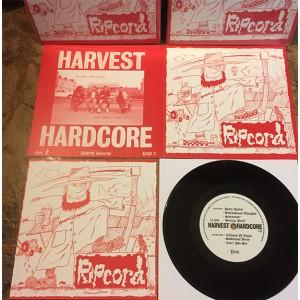 "RIPCORD - Harvest Hardcore 7"" BLACK VINYL"