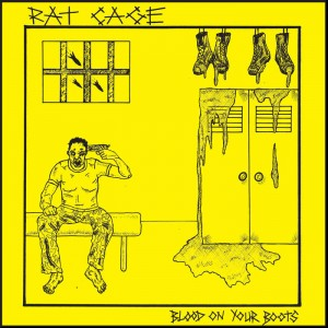 """RAT CAGE - Blood on Your Boots 7"""" BLACK"""
