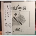 BELGRADO - Obraz LP Japanese Press with Obi