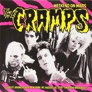 THE CRAMPS - Weekend in Mars LP