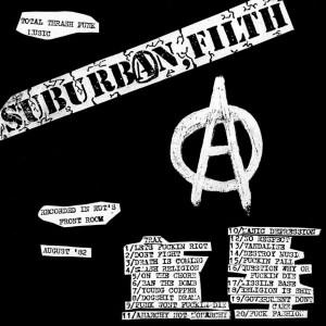"""SUBURBAN FILTH - Total Thrash Punk Music Demo 82 7"""""""