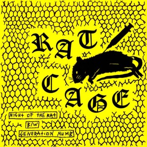 "RAT CAGE - Night of the Rat 7"" LATHE"